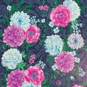 Matthew Williamson Duchess Garden Ink-Pink-Magenta-Turquoise W7147-01