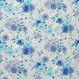 Matthew Williamson Duchess Garden Persian Blue-Grey-Mint F7124-05