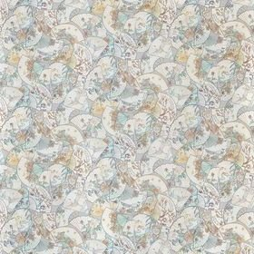 Matthew Williamson Fanfare Grey-Aqua-Sand F7128-02