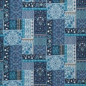 Matthew Williamson Folklore Indigo F7121-03