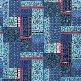 Matthew Williamson Folklore Persian Blue-Pink F7121-04