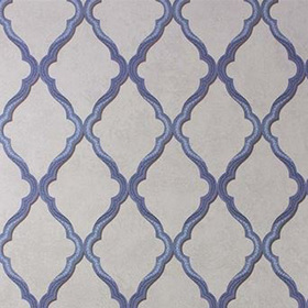 Matthew Williamson Jali Trellis Blue-Stone W6957-05