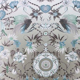 Matthew Williamson Menagerie Aqua-Gilver W6950-05