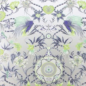 Matthew Williamson Menagerie Kiwi-Mint W6950-04