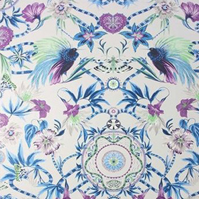 Matthew Williamson Menagerie Persian Blue-Lilac W6950-02