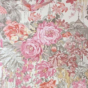 Matthew Williamson Mughal Garden Old Rose-Grey W6958-03