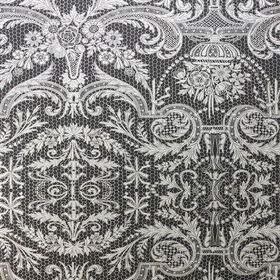 Matthew Williamson Orangery Lace Black-Metallic Silver W7142-02