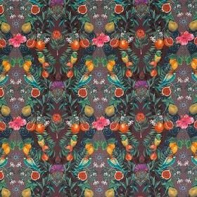 Matthew Williamson Talavera Plum-Rich Mint F7242-03