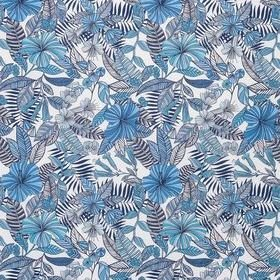 Matthew Williamson Valldemossa Persian Blue-Ivory F7240-03