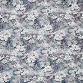 Matthew Williamson Water Lily Dove Grey F7131-04
