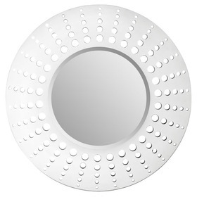 S.J. Dixon Holed Mirror White 008263