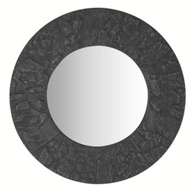 Arthouse For S.J. Dixon Round Mirror Slate 008275