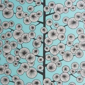 Miss Print Cotton Tree Sky Blue MISP1239