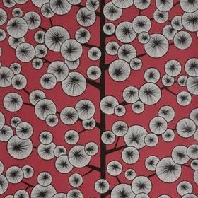 Miss Print Cotton Tree Snapdragon Red MISP1035