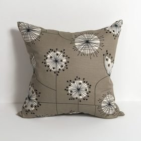 Miss Print Dandelion Mobile French Grey with White