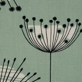Miss Print Dandelion Mobile Mist Green with White
