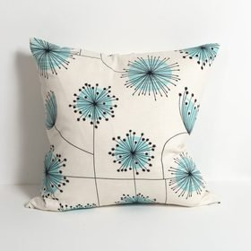 Miss Print Dandelion Mobile Porcelain with Powder Blue