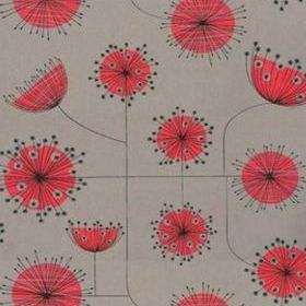 Miss Print Dandelion Mobile Storm with Coral MISP1025