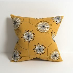 MissPrint Dandelion Mobile Sunflower Yellow-White CUSH1001