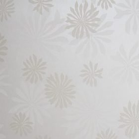 Miss Print Fleur White with Stone MISP1016