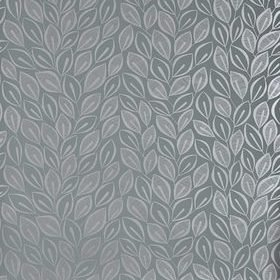 Miss Print Leaves Graphite with Silver MISP1029