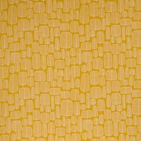 Miss Print Little Trees Yellow FABR1013
