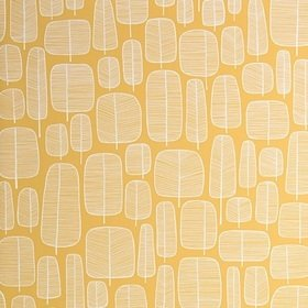 Miss Print Little Trees Yellow MISP1228