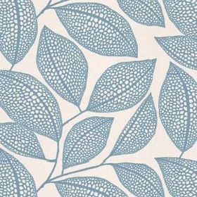 Miss Print Pebble Leaf Boathouse Blue MISP1039