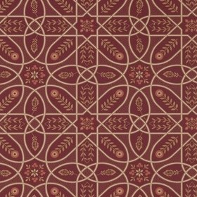 Morris & Co Brophy Trellis Russet-Gold 216701