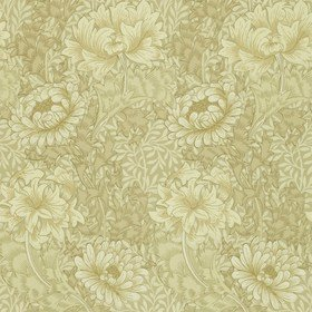 Morris & Co Chrysanthemum Ivory-Canvas WM7612-8