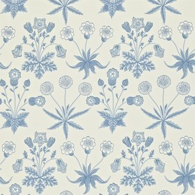 Morris & Co Daisy Blue-Ivory 212561