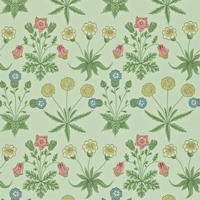 Morris & Co Daisy Pale Green-Rose 212559