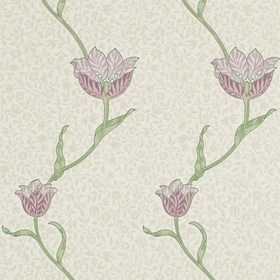 Morris & Co Garden Tulip Artichoke-Heather 210393
