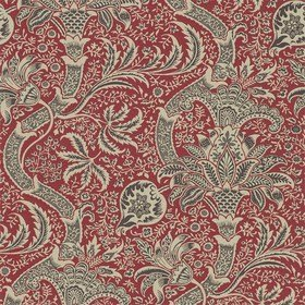 Morris & Co Indian Red-Black 210438
