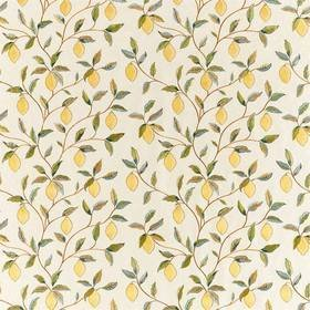Morris & Co Lemon Tree Embroidery Bayleaf-Lemon 236823