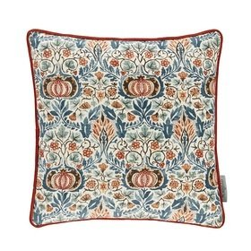 Morris & Co Little Chintz Teal-Saffron 257014