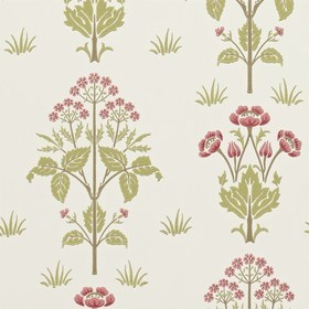 Morris & Co Meadow Sweet Rose-Olive 210347