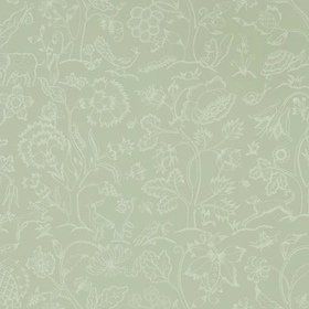 Morris & Co Middlemore Sage-Grey 216694