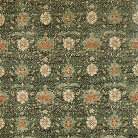Morris & Co Montreal Velvet Forest-Teal 226391