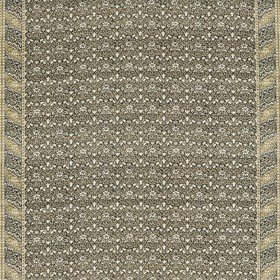 Morris & Co Morris Bellflowers Charcoal-Olive 226405