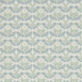 Morris & Co Morris Bellflowers Grey-Fennel 216435