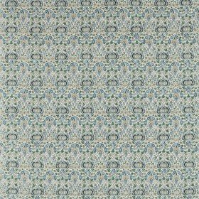 Morris & Co Little Chintz Slate Blue-Fennel 226406