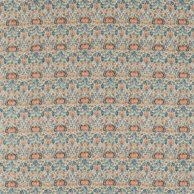 Morris & Co Little Chintz Teal-Saffron 226409