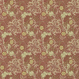 Morris & Co Morris Seaweed Red-Gold 214712