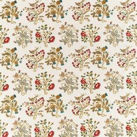 Morris & Co Newill Embroidery Antique-Carmine 236824