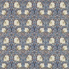 Morris & Co Pimpernel Indigo-Hemp 226453