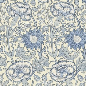 Morris & Co Pink & Rose Indigo 212567