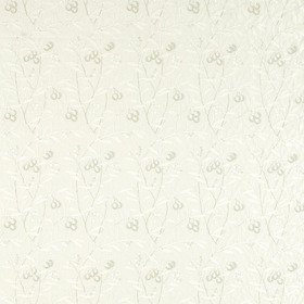 Morris & Co Pure Arbutus Embroidery White Clover 236620