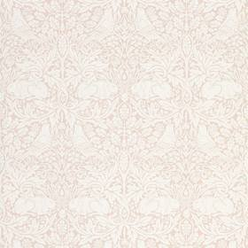 Morris & Co Pure Brer Rabbit Faded Sea Pink 216533