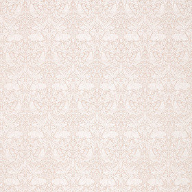 Morris & Co Pure Brer Rabbit Weave Faded Sea Pink 236628